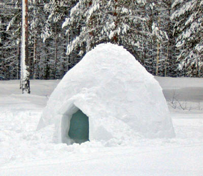Igloo - Not built by us...