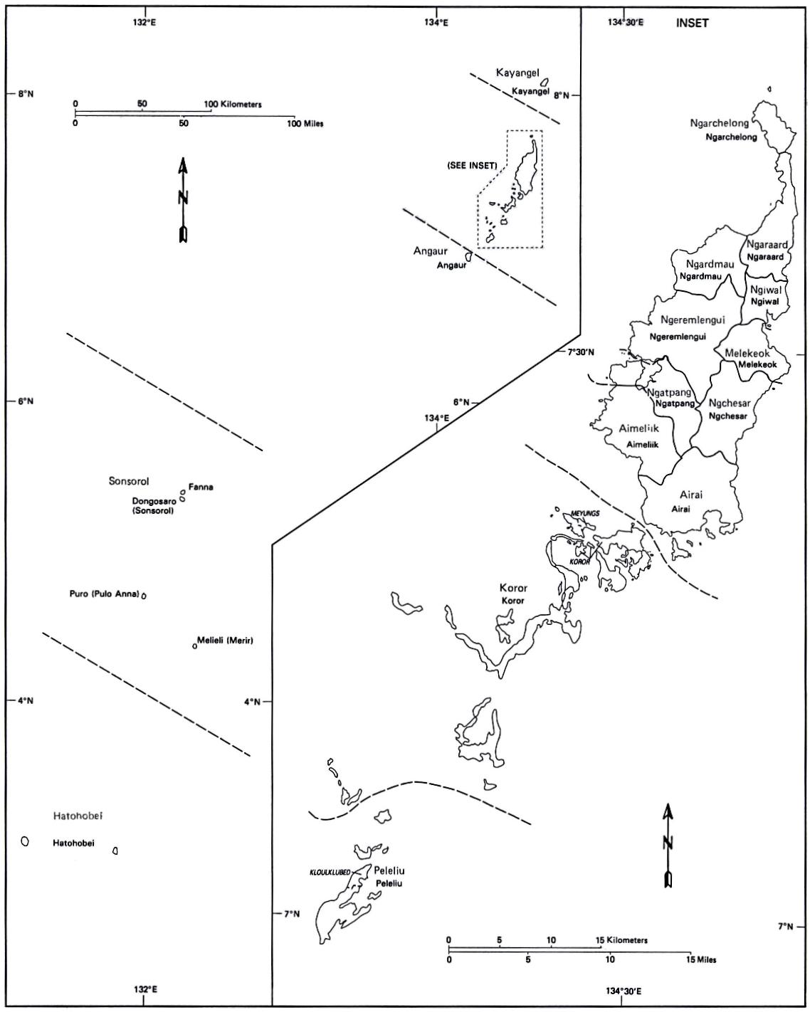 States Of Palau