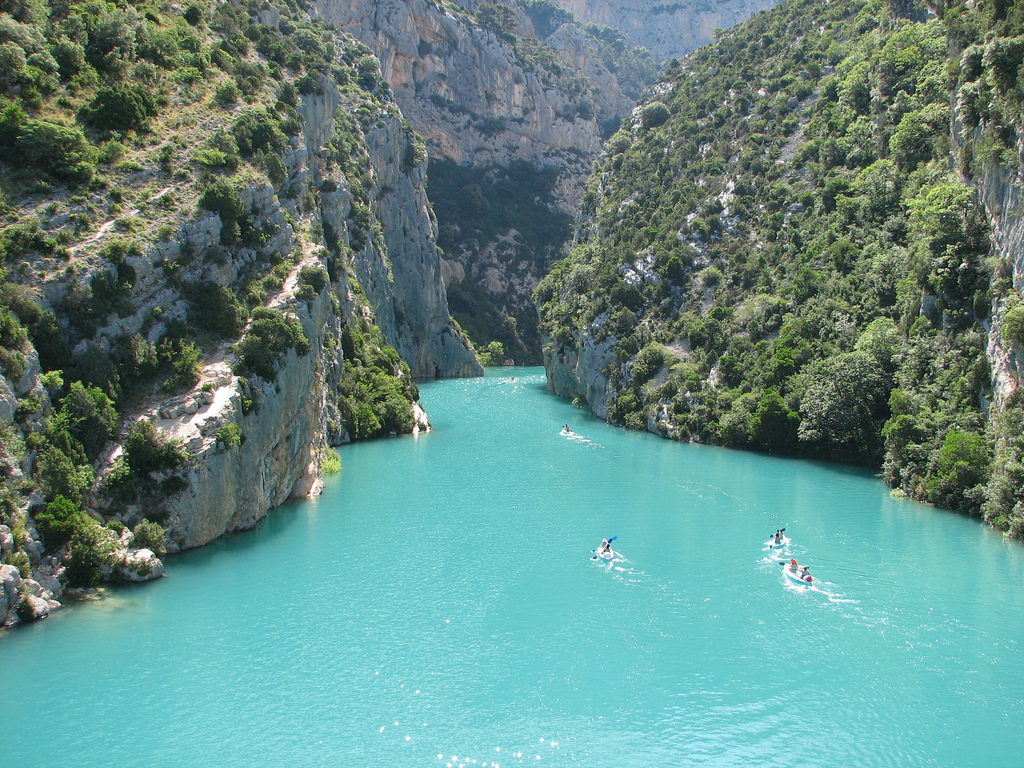 gorges du Verdon- Most surreal places to visit
