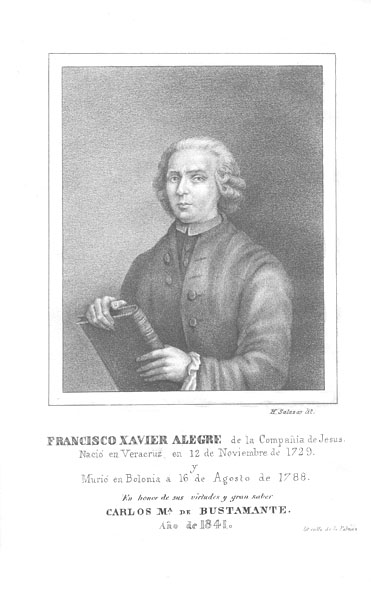 Francisco Javier Alegre Wikimedia Commons