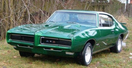 1968 dodge cars » Pontiac GTO     Vikipedija Dark green 1968 Pontiac GTO jpg
