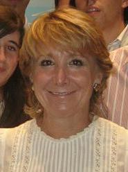Español: Esperanza Aguirre, presidenta de la C...