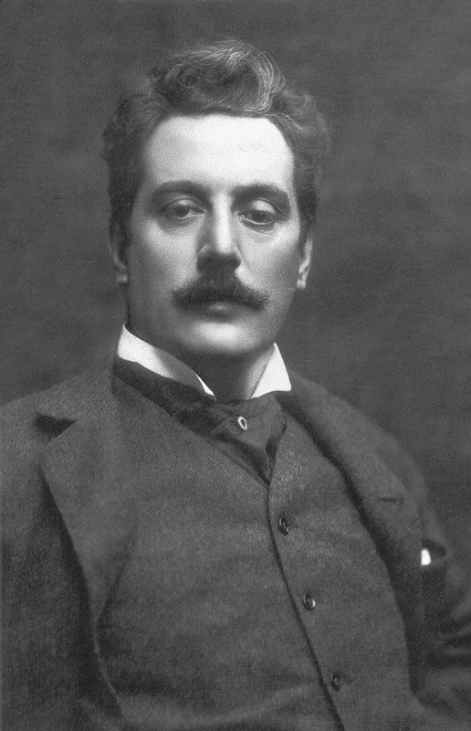 composer Giacomo Puccini