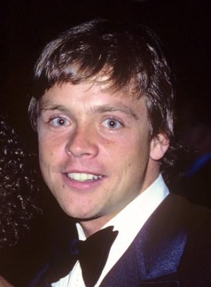 Luke Skywalker smiling