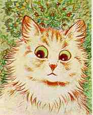 Drawn by early 20th-century commercial cat ill...