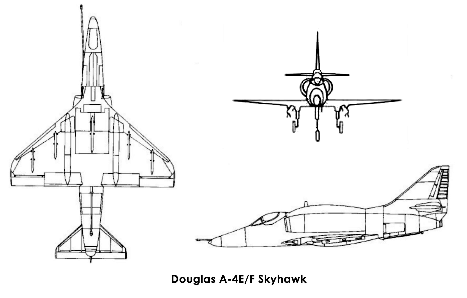 Mcdonnell Douglas A 4 Skyhawk