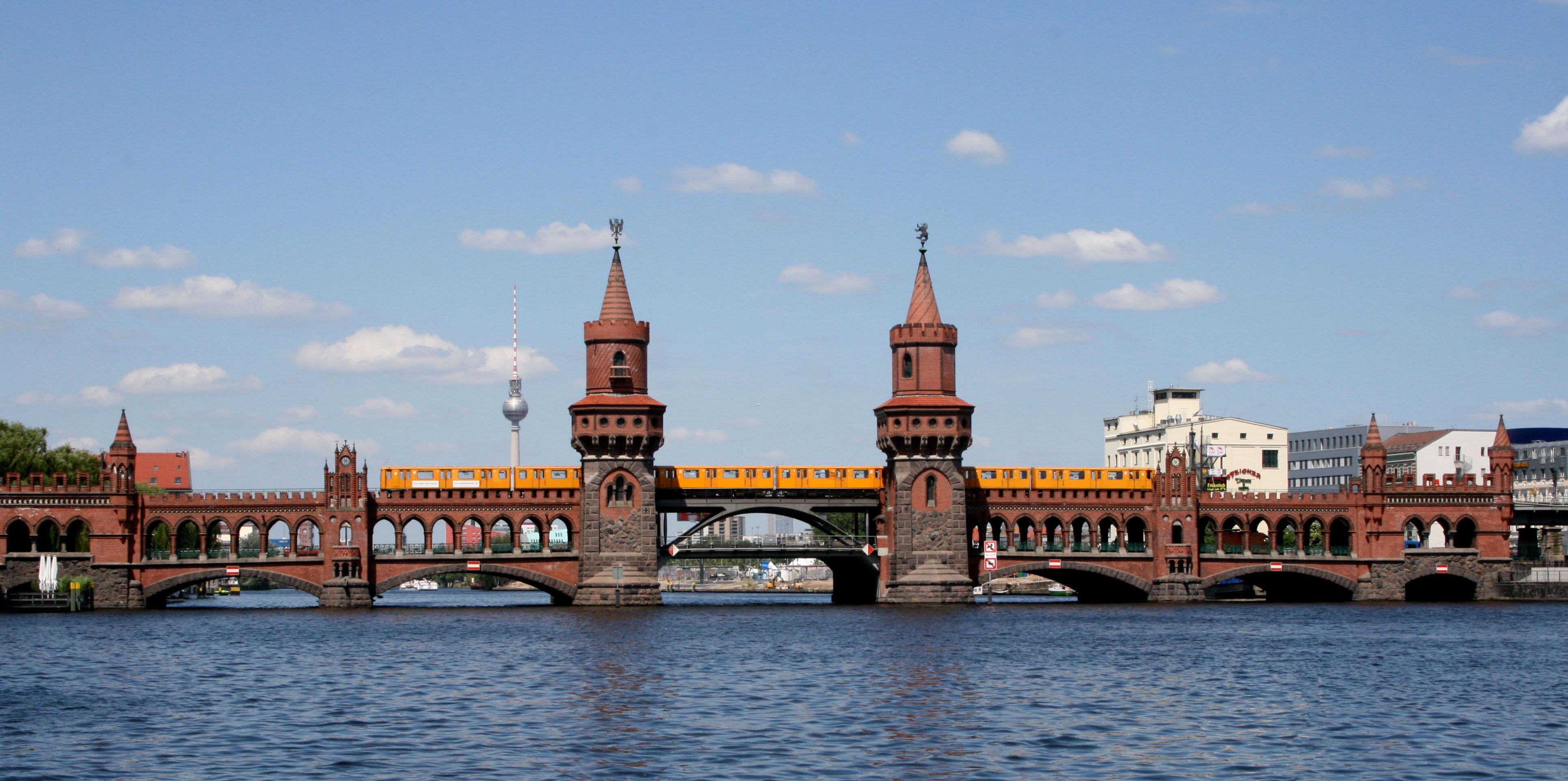 Deutsch: Berlin, Oberbaumbrücke