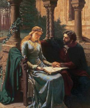 Abelard and his pupil, Héloïse, by Edmund Blai...
