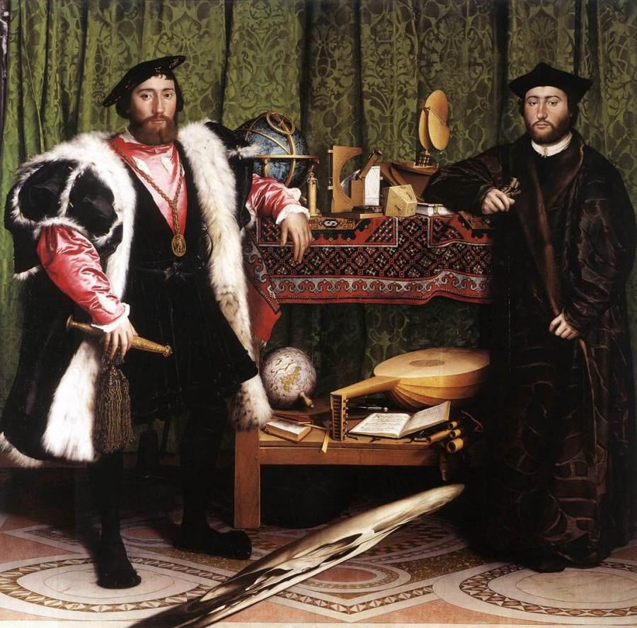 Hans Holbein, Os Embaixadores, 1533