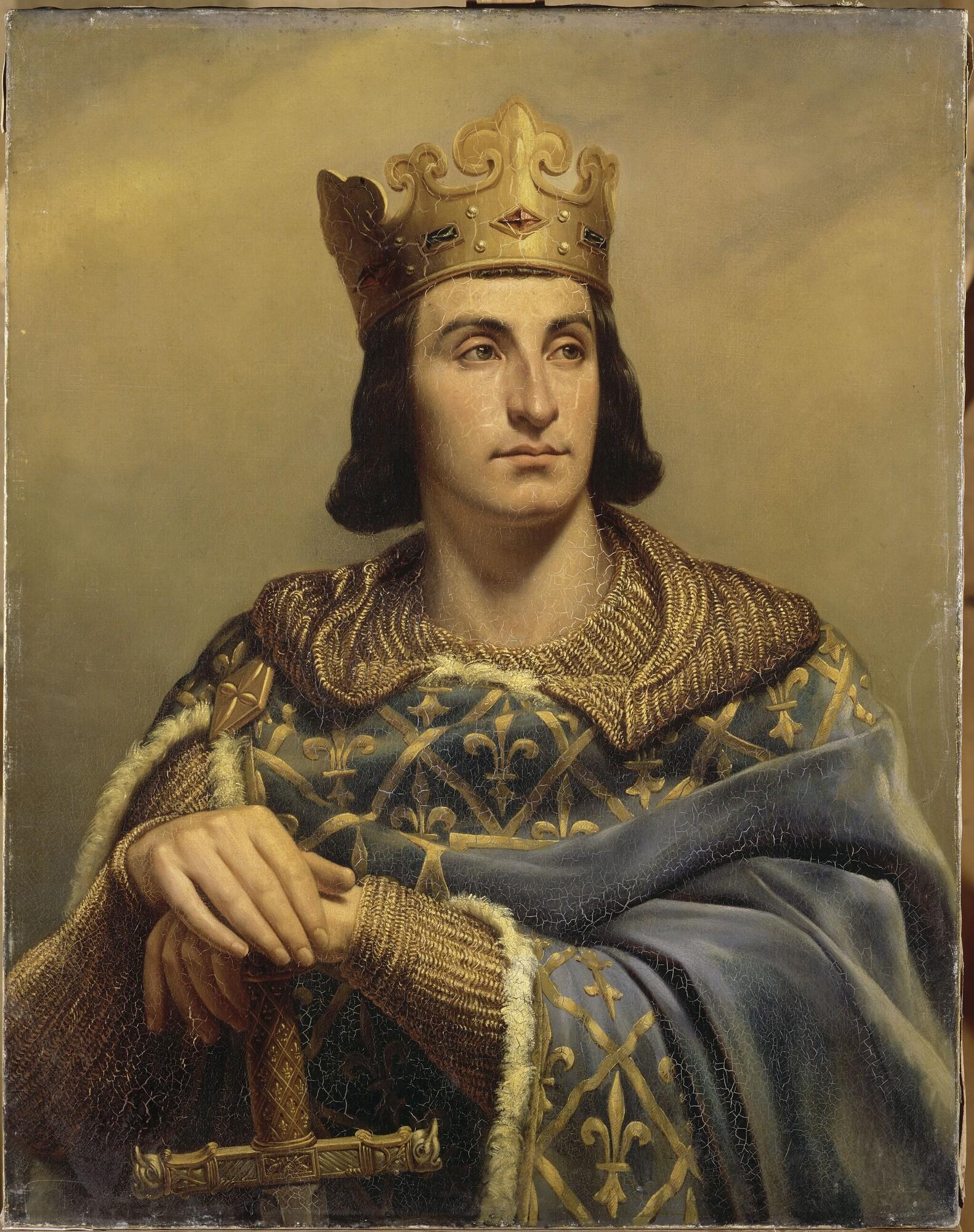 Lukisan Raja Phillip II dari Perancis