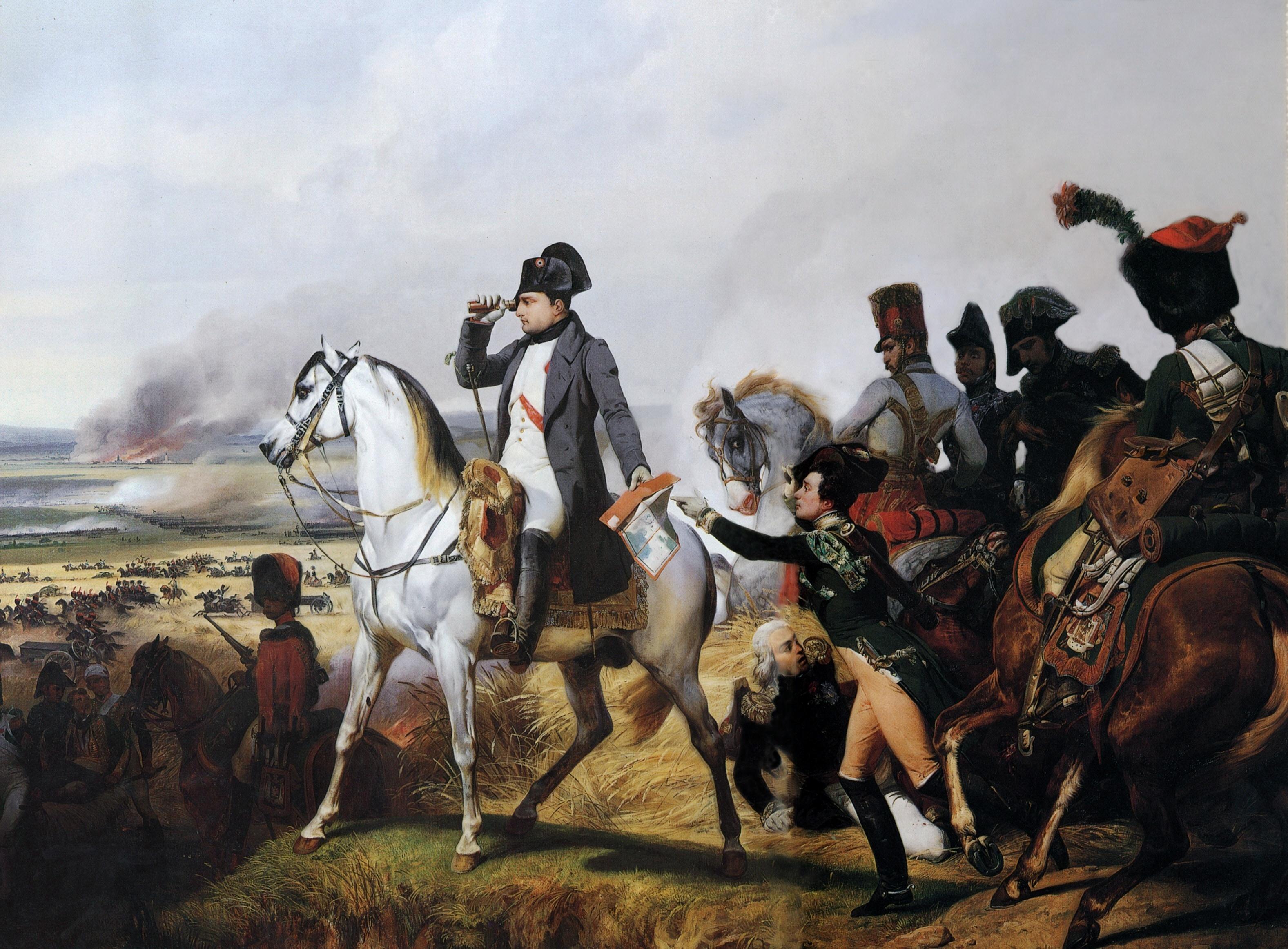 Napoleón en Wagram