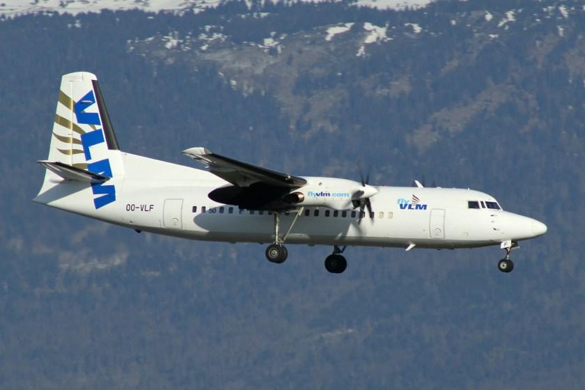 Bildresultat för vlm airlines fokker 50