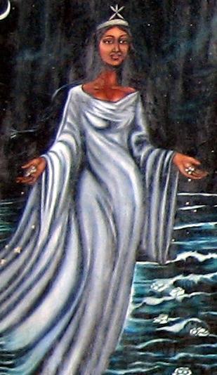 Virgin of Regla is the syncretic form of Yemaja