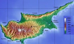 Image result for map of cyprus