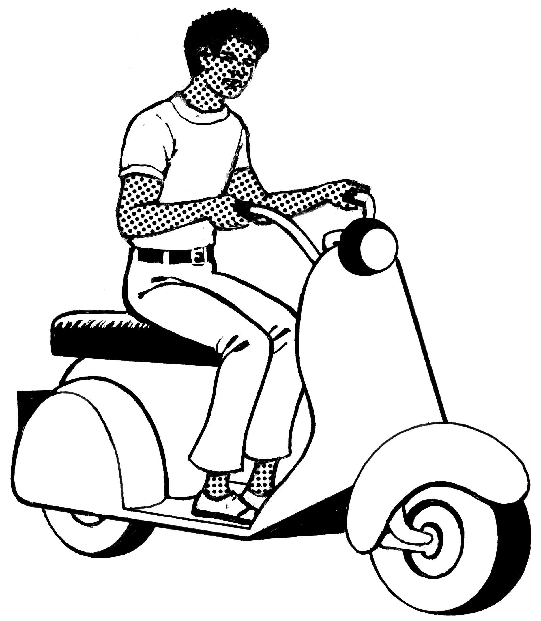File Motor Scooter Psf