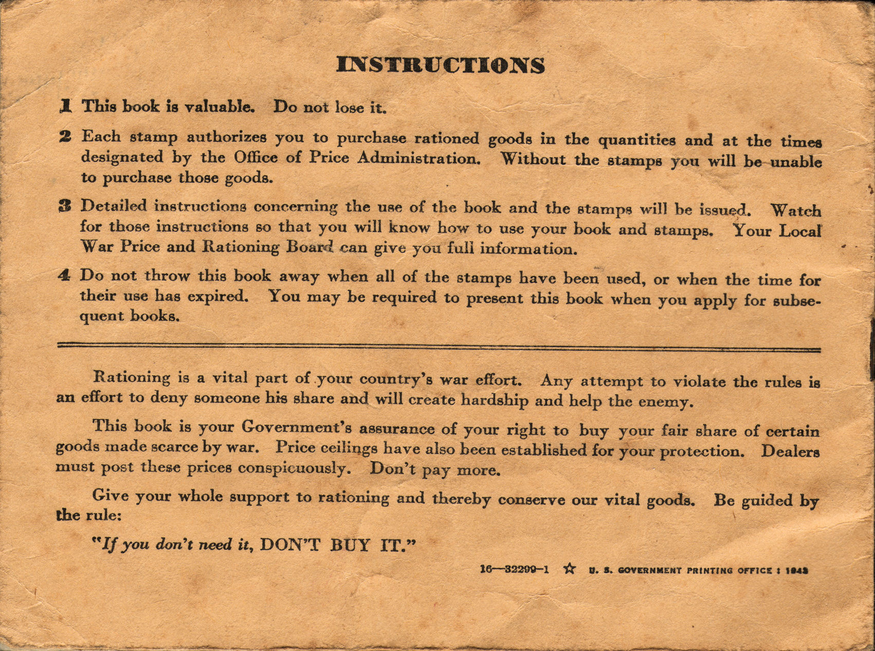 File Wwii Usa Ration Book 3 Back