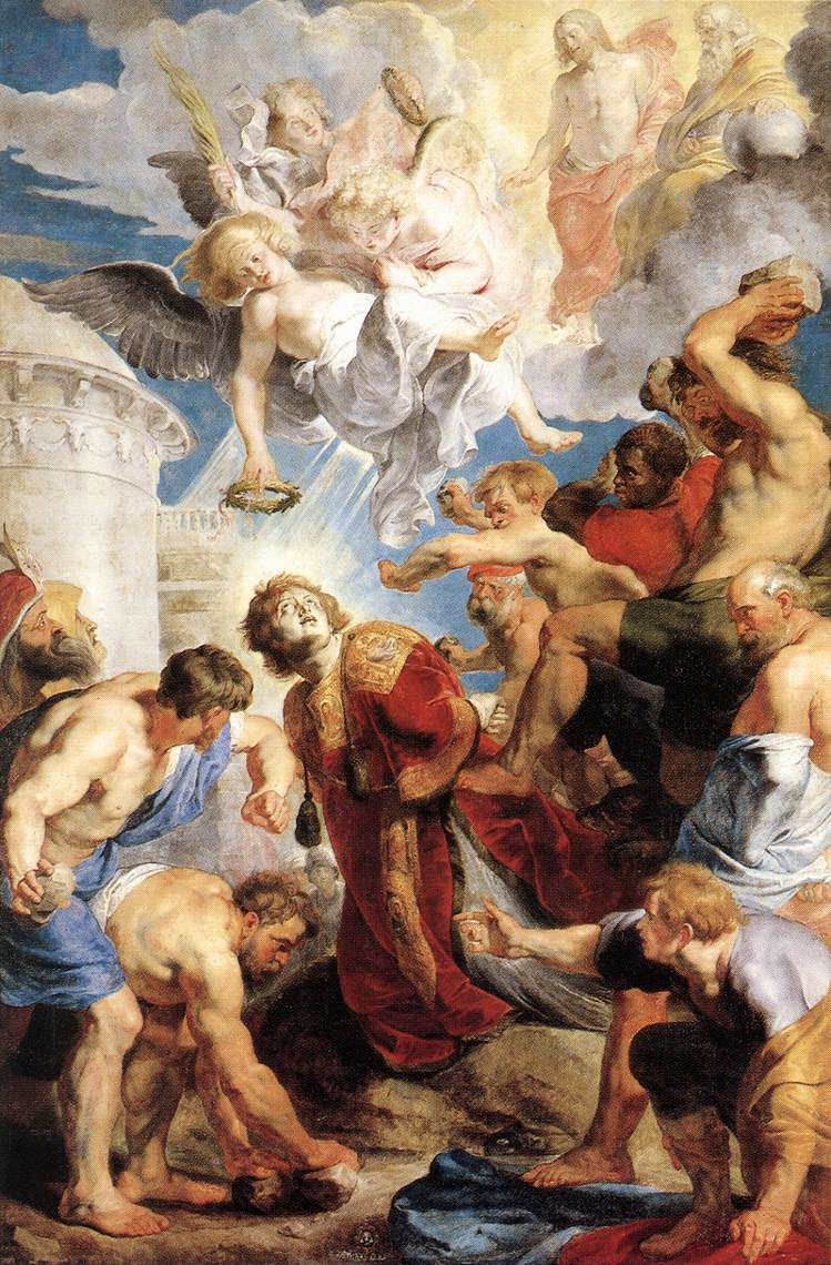 Rubens' The Martyrdom of Stephen