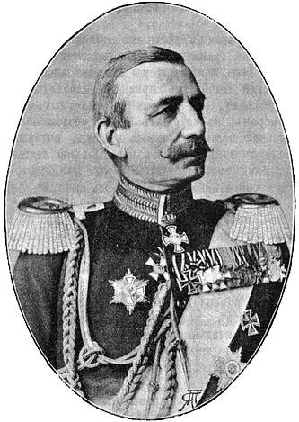 Deutsch: preußischer Generalfeldmarschall Wilhelm von Hahnke (1895)