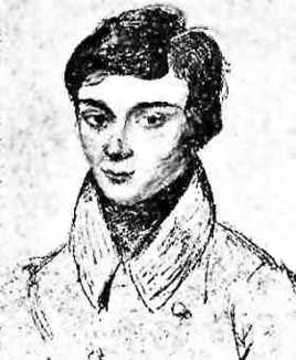 Galois age fifteen, drawn by a classmate.