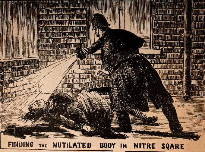 Jack the Ripper's victim.