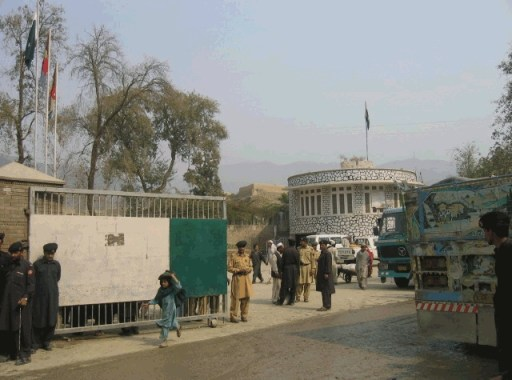 Turkham Afghanistan border crossing