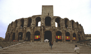English: Roman arena of the city of Arles.