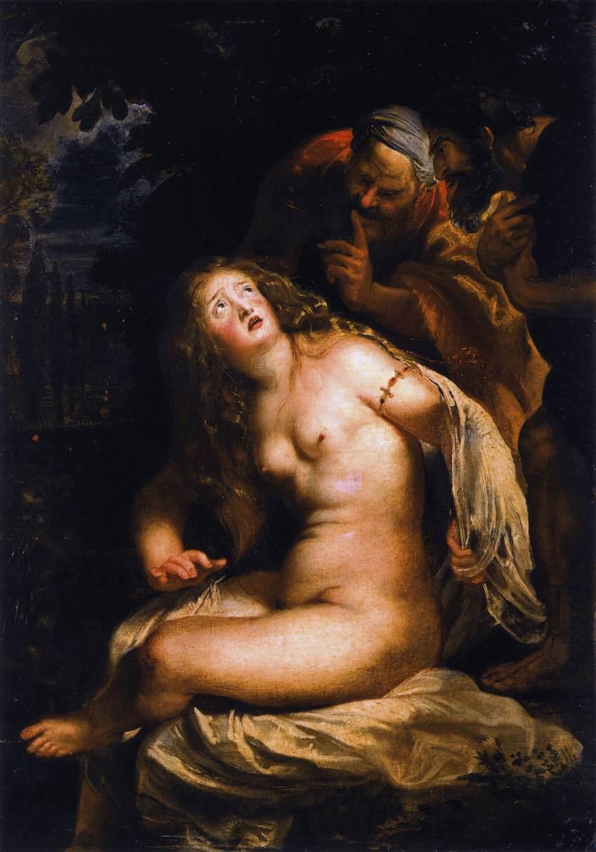 Susanna e i vecchioni - Rubens 1607/1608
