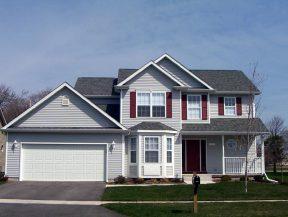 Typisches US-amerikanisches Einfamilienhaus