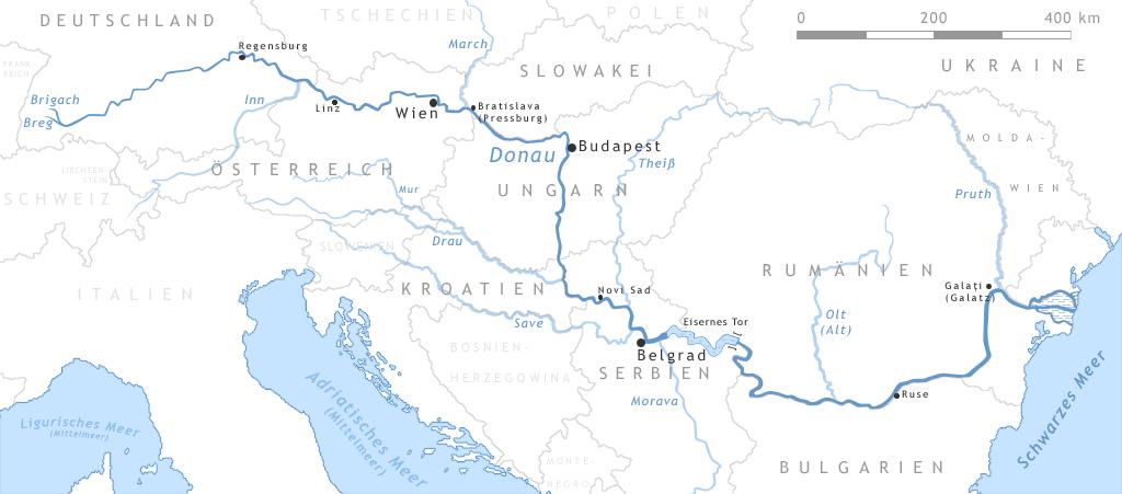3000 Kilometer von Donaueschingen ans schwarze Meer