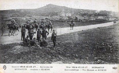 File:World War I - Saloniki Front - British Troops at Kilkis, Greece.jpg