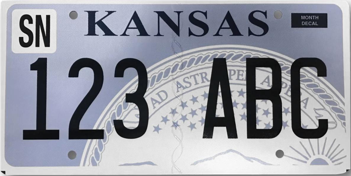 Vehicle Registration Plates Of Kansas Wikipedia