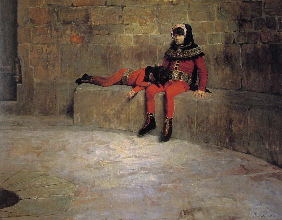Hostages, Jean-Paul Laurens, 1896