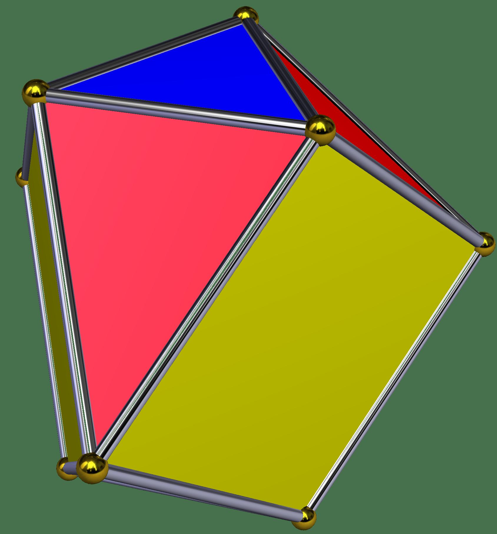 How To Draw A Triangular Prism