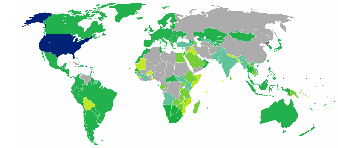 Visa requirements for US Citizens