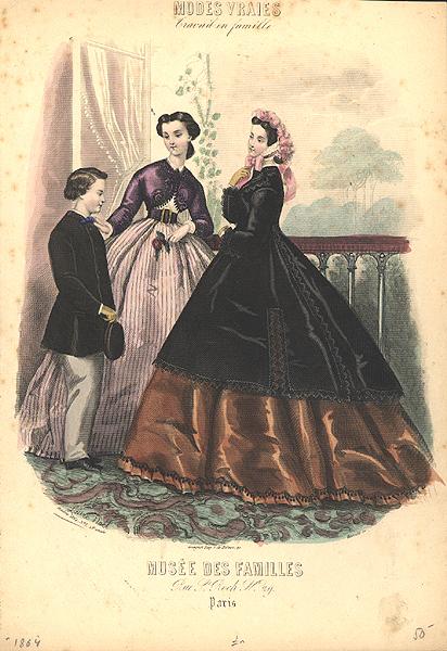 Istorija odevnih predmeta - Page 7 Fashion_plate_1864