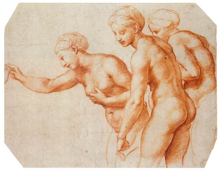 Raphael Three Graces