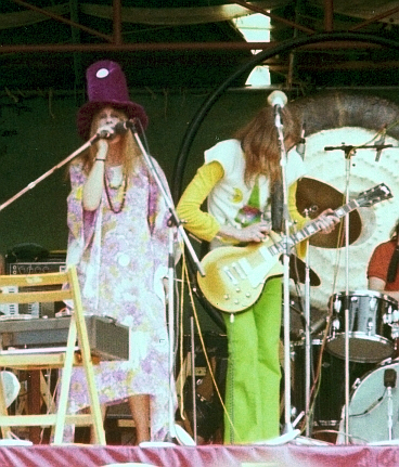 Gongs Gilli Smyth & Daevid Allen, 1974