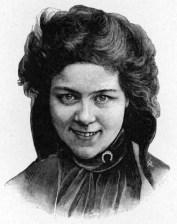 American dancer Loie Fuller (1862-1928)