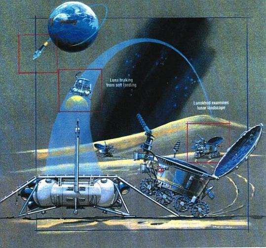 Resultado de imagen para Lunokhod 1