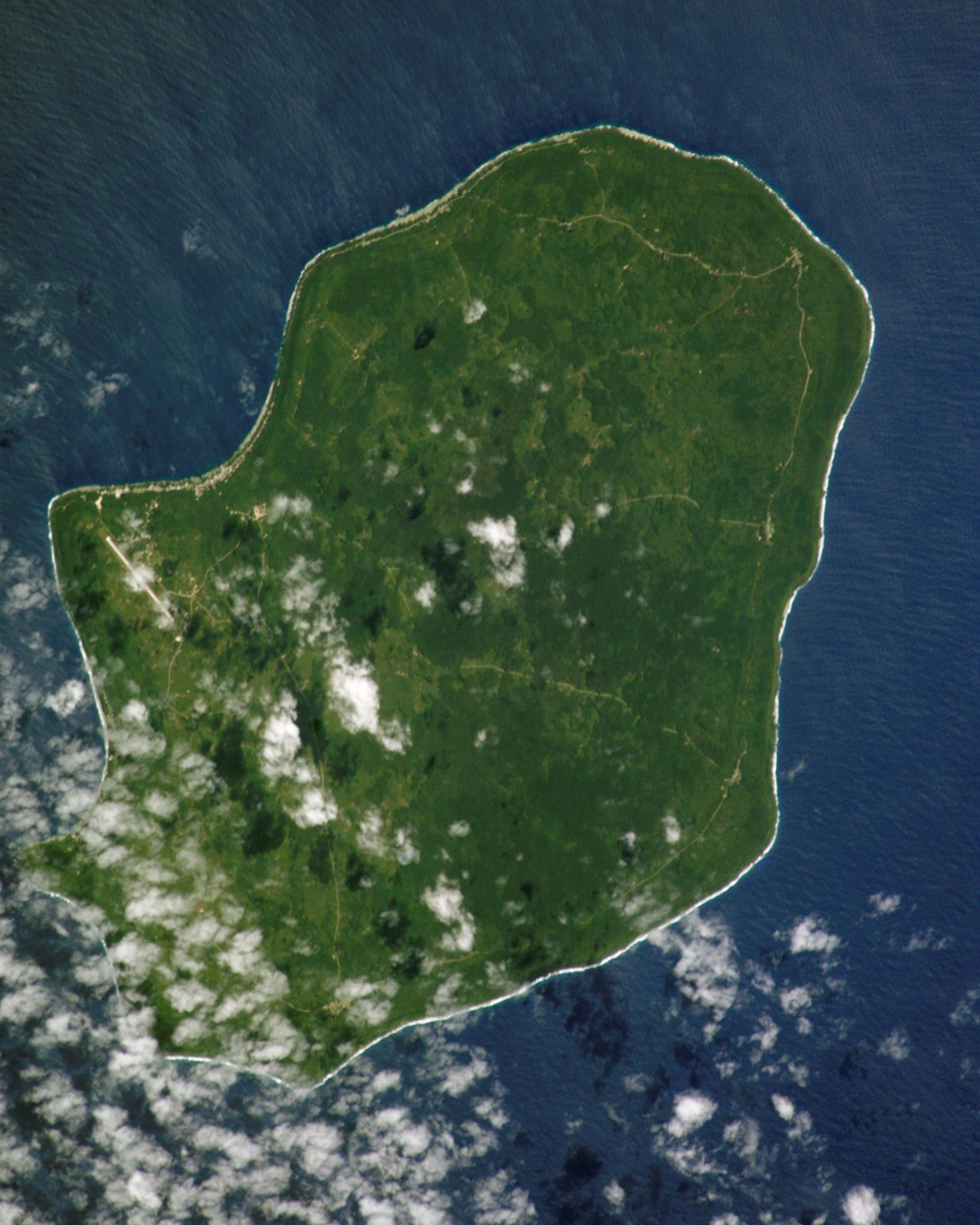NASA astronaut image of Niue Island in the Pac...