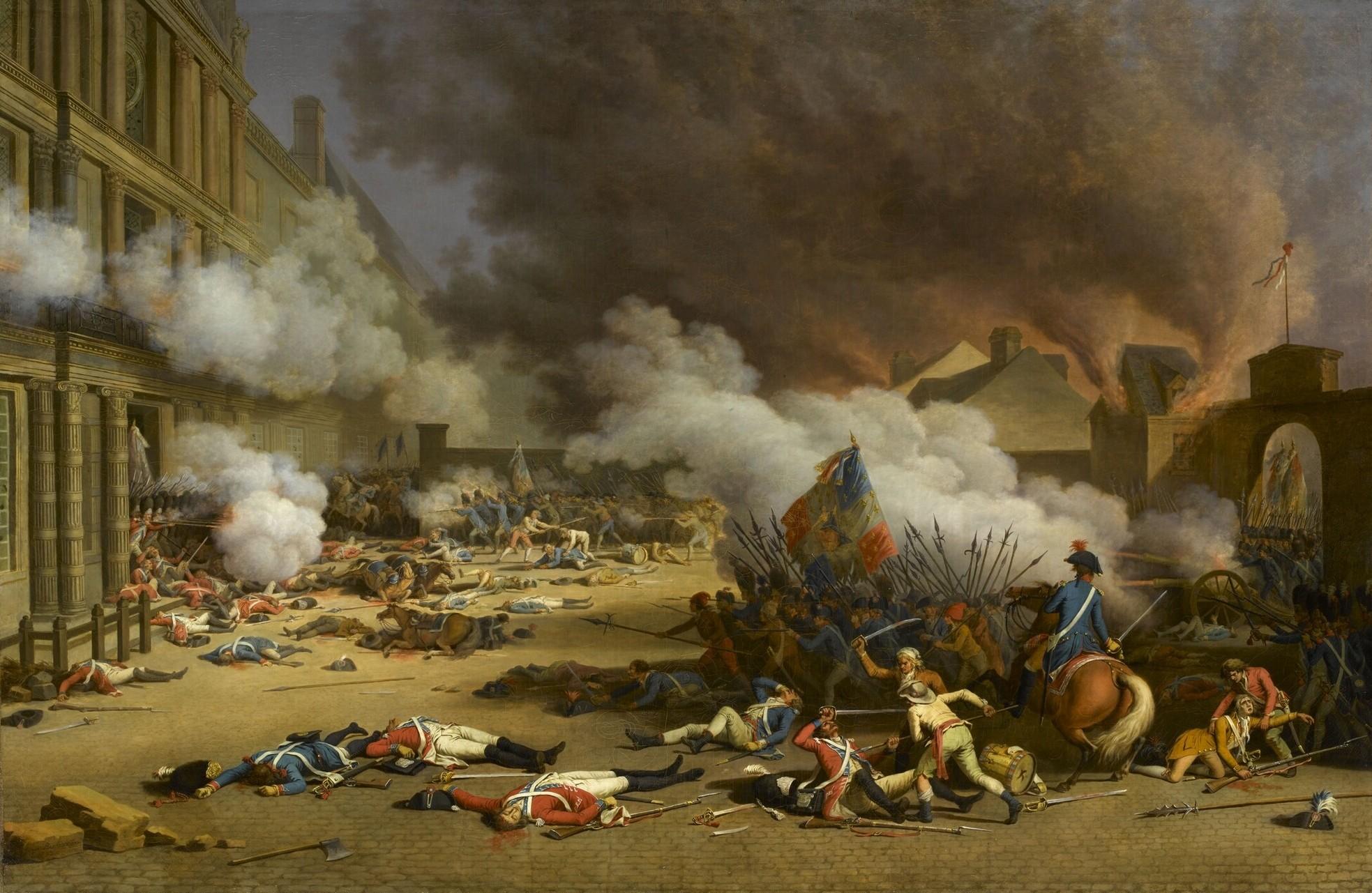 Frantziako Iraultza 1789. urteko datari lotua ikusiko duzue liburuetan.