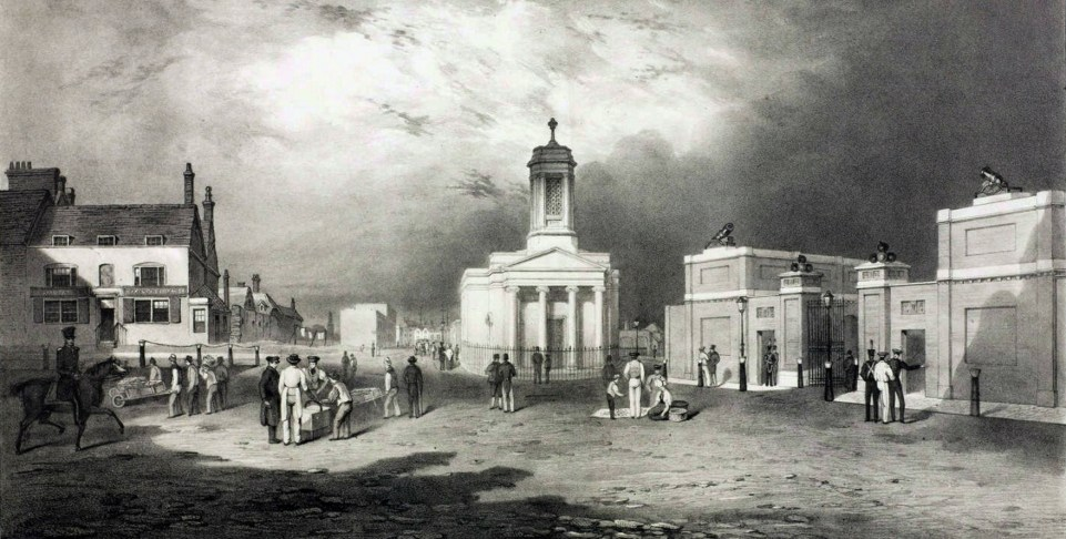 File:Woolwich, Beresford Square, c 1835.jpg - Wikimedia Commons