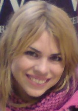 Billie Piper at the book signing of her autobi...