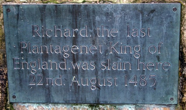 Richard III, last King of England