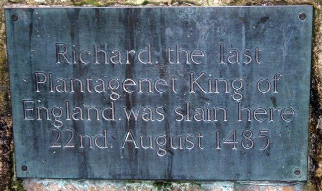 Richard III, last King of England