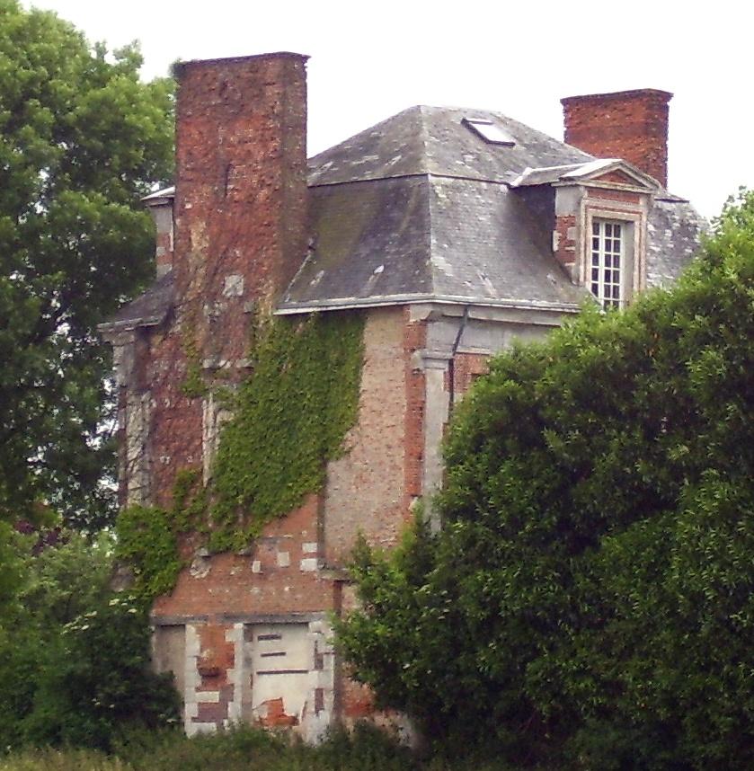 Rest des Schlosses, eigenes Foto, Lizenz:public domain/gemeinfrei