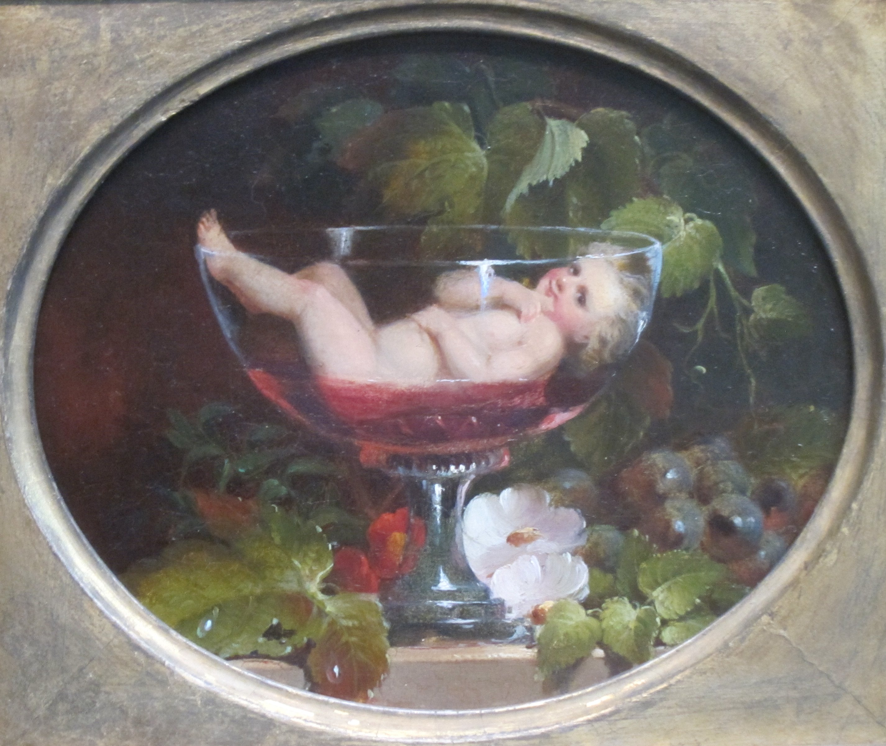 Cupid in a Wine Glass