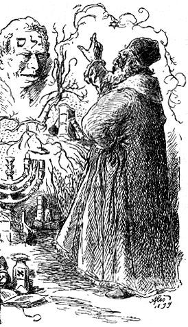 Rabbi Lev Qolem`i canlandırır