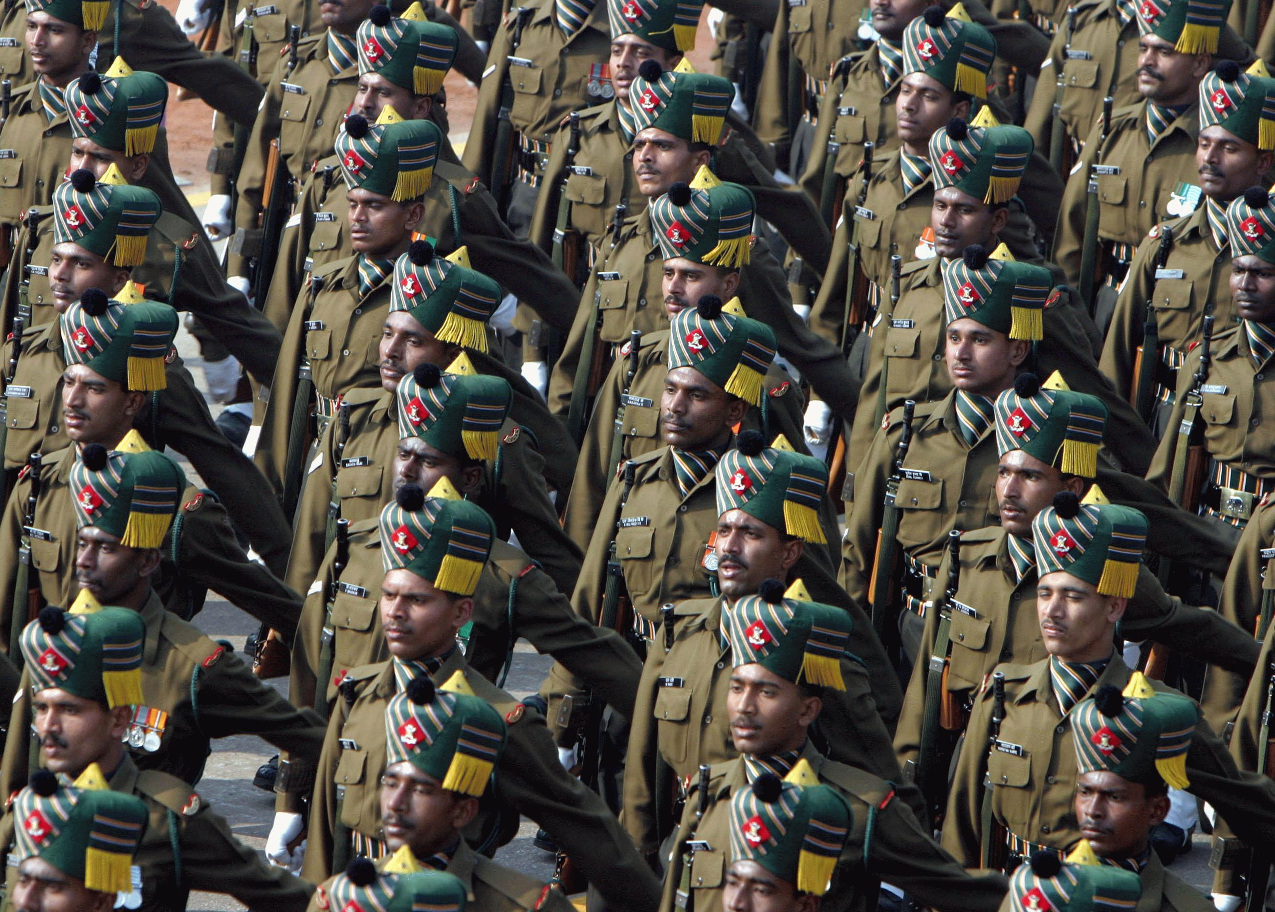 Indian Army Madras regiment