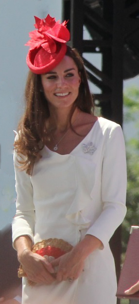 English: Catherine, Duchess of Cambridge, on h...